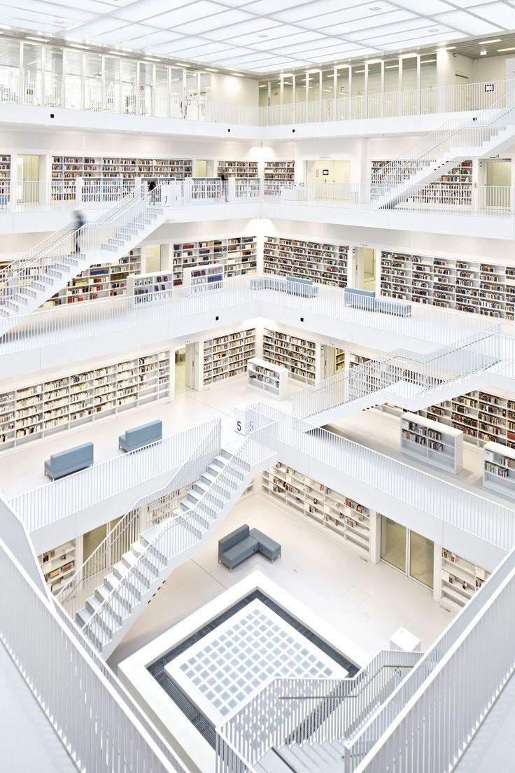 Yi Architects, Juergen Pollak · Stuttgart City Library