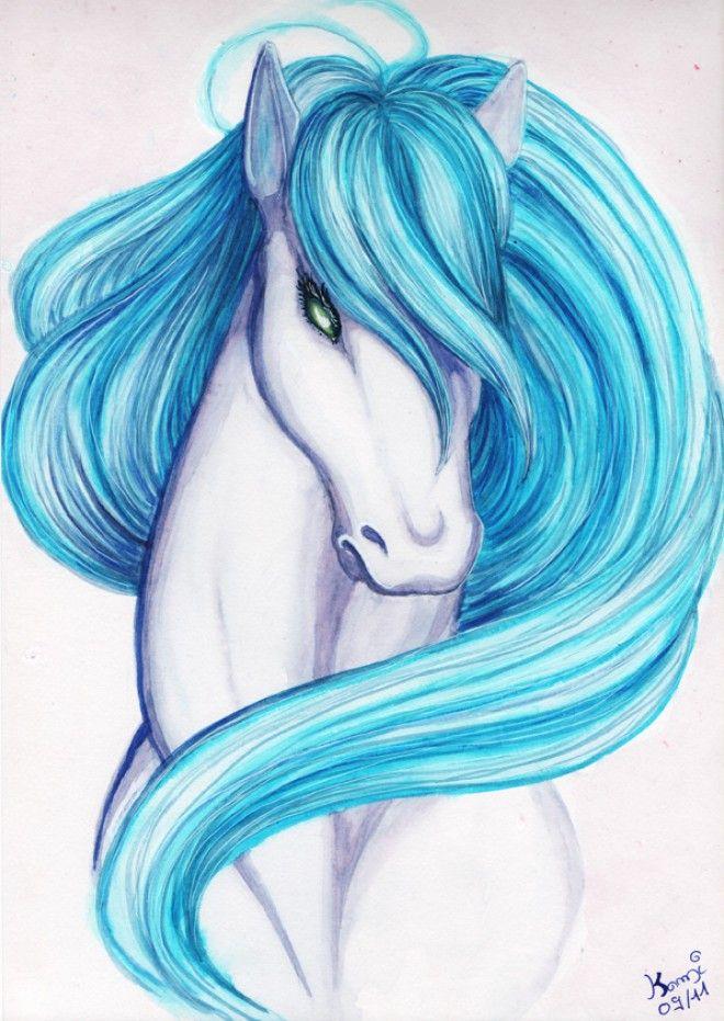 Les 25 meilleures id es de la cat gorie dessin de cheval sur pinterest dessin cheval comment - Comment dessiner un poney ...