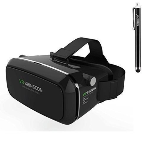 Tepoinn 3D VR Glasses 3D VR Headset Virtual Reality Box with Adjustable Lens ... #Tepoinin