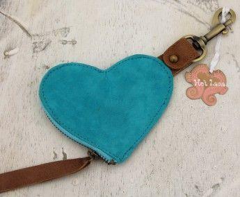 Ibiza Kleding: Hot Lava -portemonnee/sleutelh. aqua - Accessoires