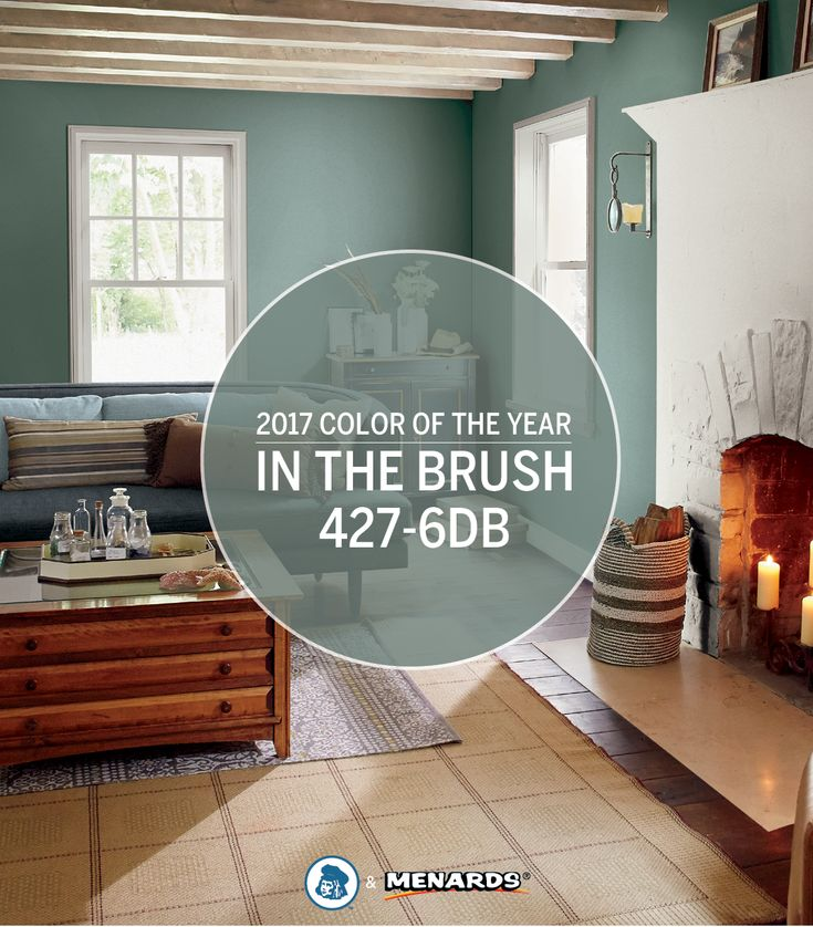 Rejuvenate your home with the Dutch Boy® 2017 Color of the Year, In the Brush 427-6DB. Discover this soothing, versatile shade and more Dutch Boy colors at your local Menards®.