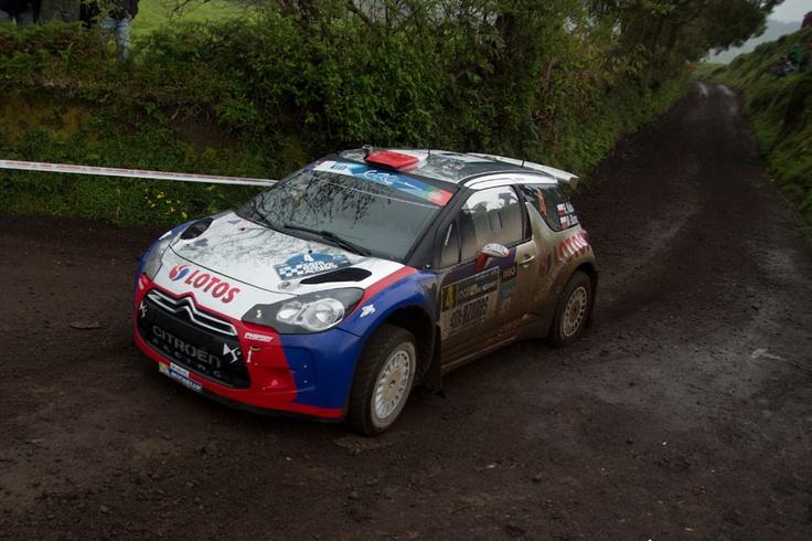 Robert Kubica on Rally Azores