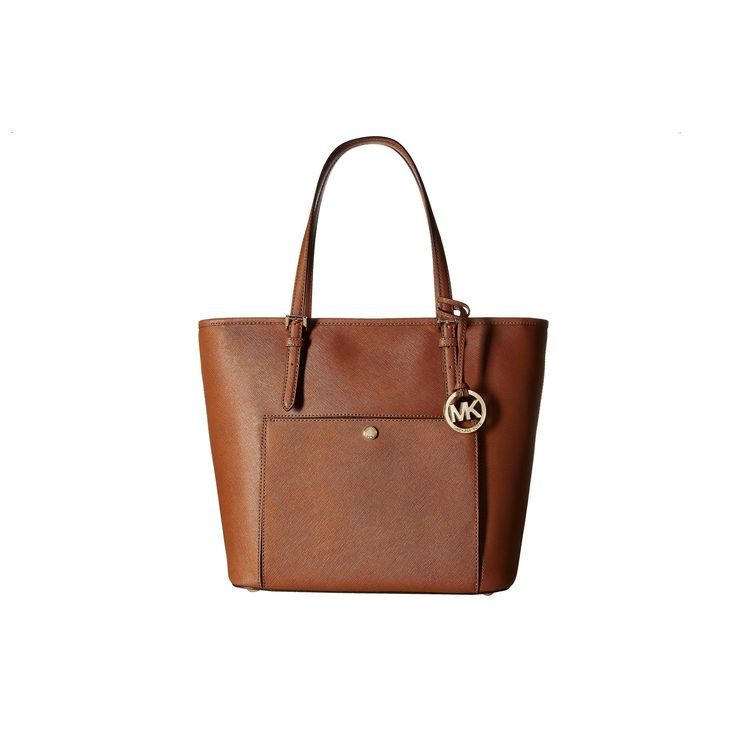 Michael Kors Jet Set Item Luggage Top Zip Pocket Tote Bag