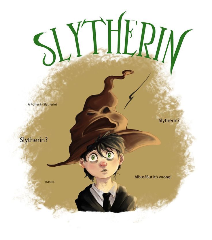 Slytherin? by Arishis.deviantart.com on @DeviantArt