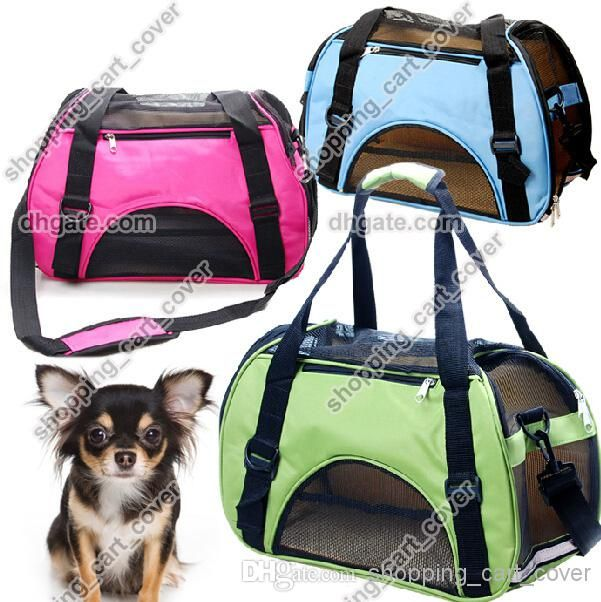 Oxford Portable Pet Dog Cat Puppy Carrier Case Comfort Car Travel Tote Shoulder Bag Backpack House Purse Crate Cage Kennel Airline Approved