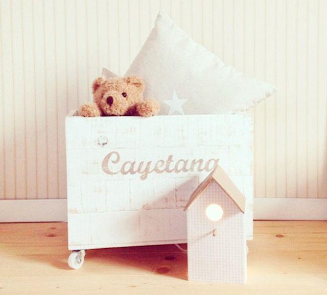 17 mejores ideas sobre cajas para guardar juguetes en - Ideas almacenaje juguetes ...