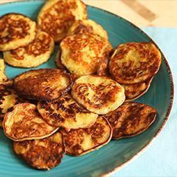 Panqueques dulces de zucchini @ allrecipes.com.ar
