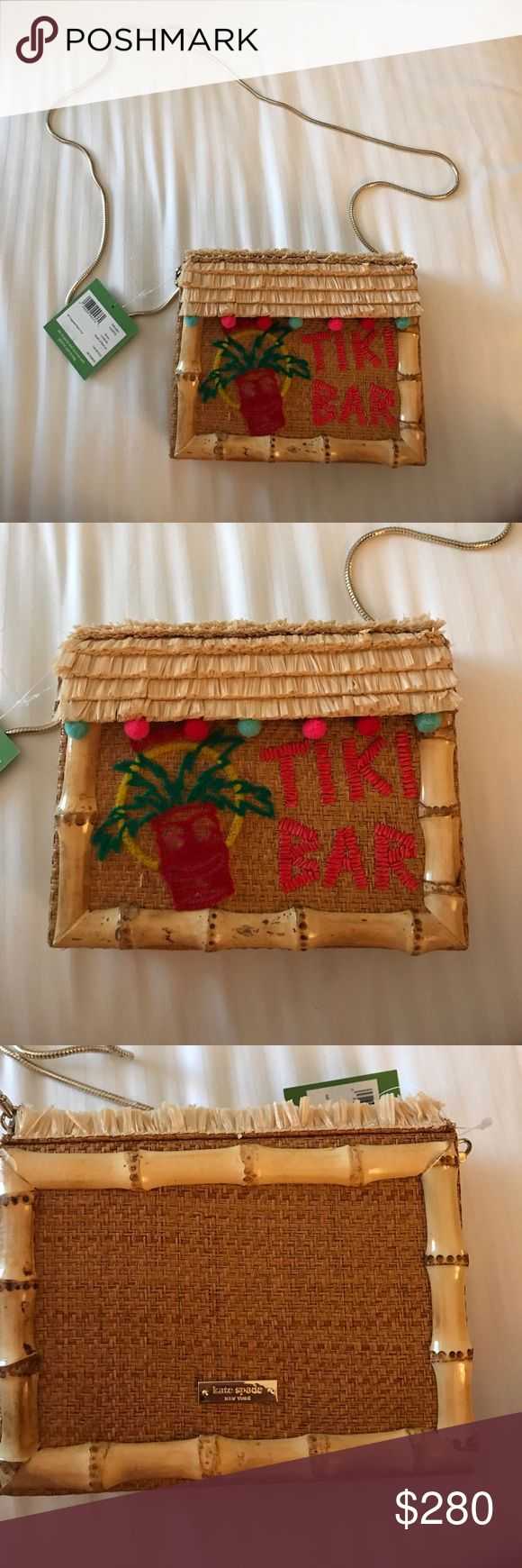 🎉24 hour sale!!! 🎉🎉Kate Spade Tiki Bar handbag Brand new with tags. Very rare find! Comes with dust bag kate spade Bags Shoulder Bags