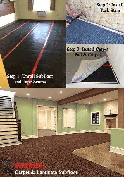 9 Best Superseal S Carpet Subfloor Images On Pinterest