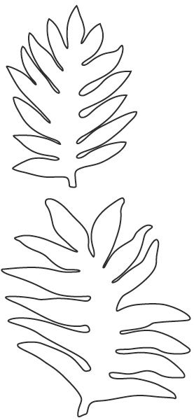 193 best leaf template images on Pinterest Leaf template - leaf template for writing