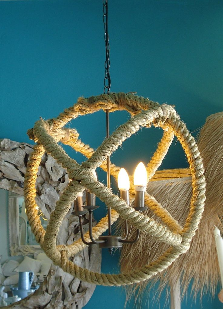 Cable rope ceiling lamp