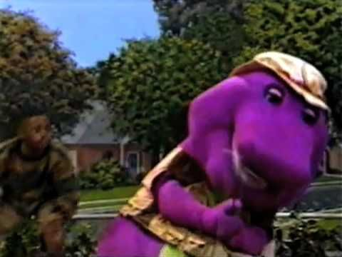 Awesome. How many excruciating hours of Barney did they have to watch to get the right clips to make this video?