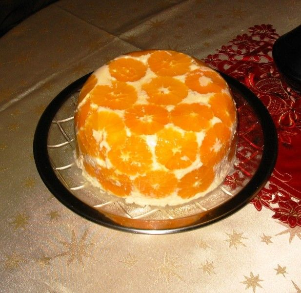 Karácsonyi narancstorta