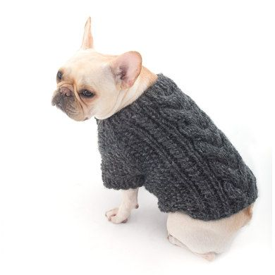 Cabled Dog Cardigan in Lion Brand Wool Ease Thick & Quick Prints - L40178. Discover more Patterns by Lion Brand at LoveKnitting. We stock patterns, yarn, needles and books from all of your favorite brands.