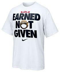 lebron merch. Lebron James Nike Earned Not Given T-Shirt $29.99 Http://www. Merch T