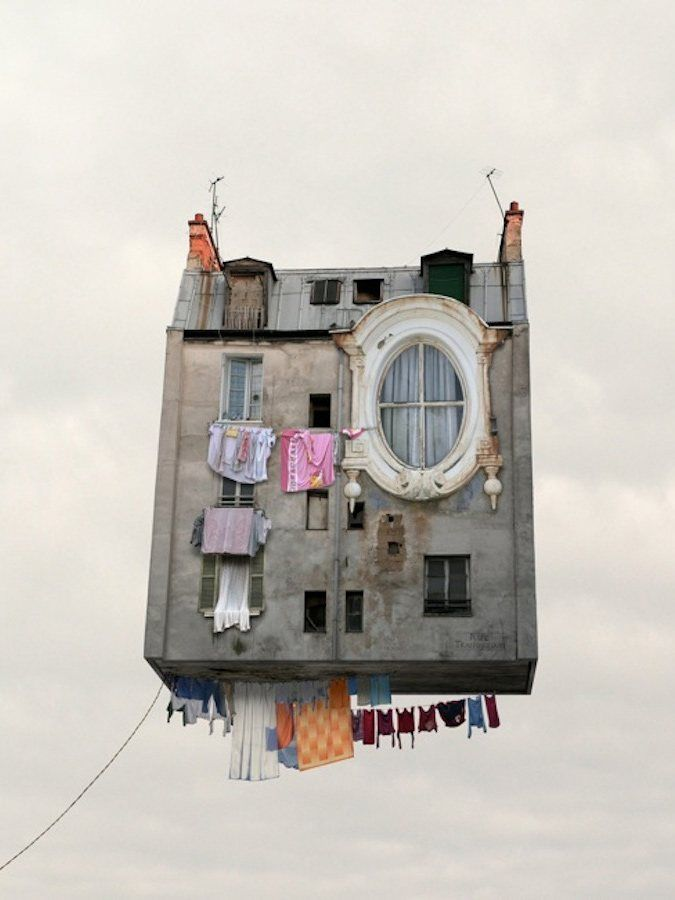 flying houses...laurent chehere....