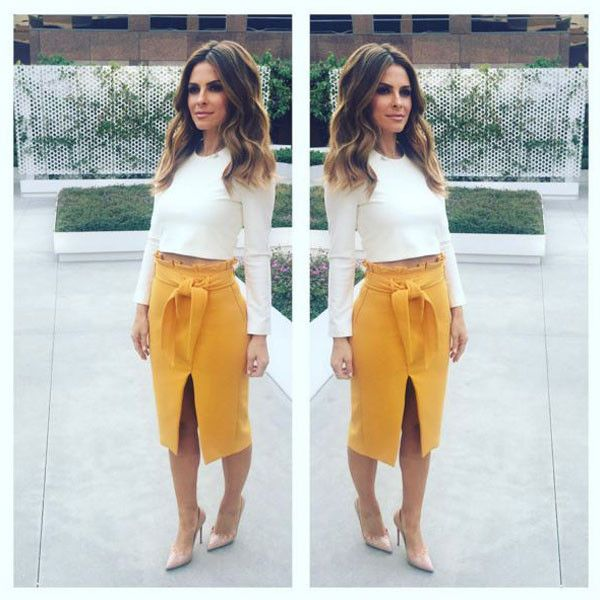 """Maria Menounos from E! News Look of the Day """"Tonight's @enews fashion by:Top…"""