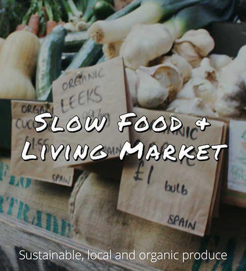 Slow Food + Living Market just added to Dojo. Download the free app for London http://dl.dojoapp.co. ✿