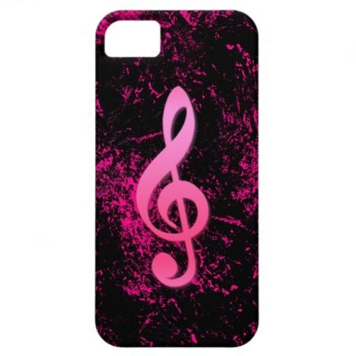Caso do iPhone 5 do símbolo da nota da música Capa iPhone 5 Case-Mate
