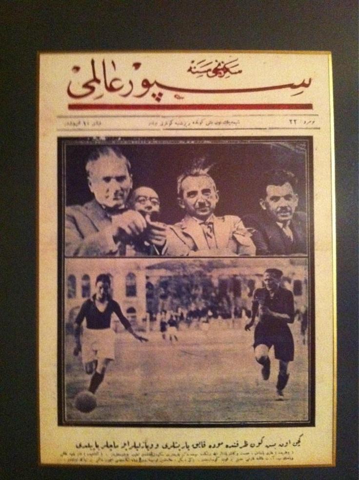 Ataturk ve Fenerbahce . Pasanin fenerbahce ziyareti
