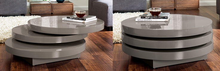 Dwell   Triplo Round Swivel Coffee Table Stone   House   Pinterest   Coffee  Tables, Stones And Tables