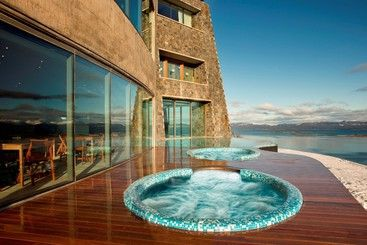 Looks inviting #view #jacuzzi #travel    Check out Argentine here: http://goo.gl/0yURGU