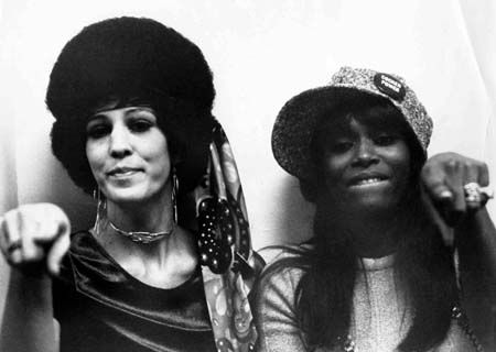 Rita Coolidge and Claudia Lennear