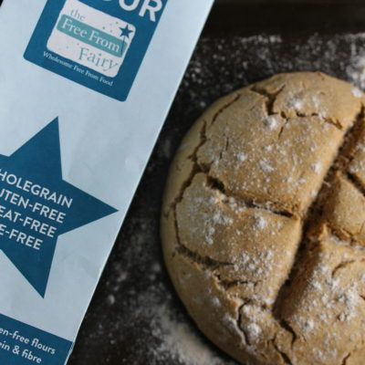 Moroccan Spiced Soda Bread (Gluten-Free, Dairy-Free, Egg-Free) - The Free From Fairy