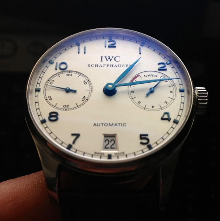 My new watch : IWC Portuguese 5001-07.