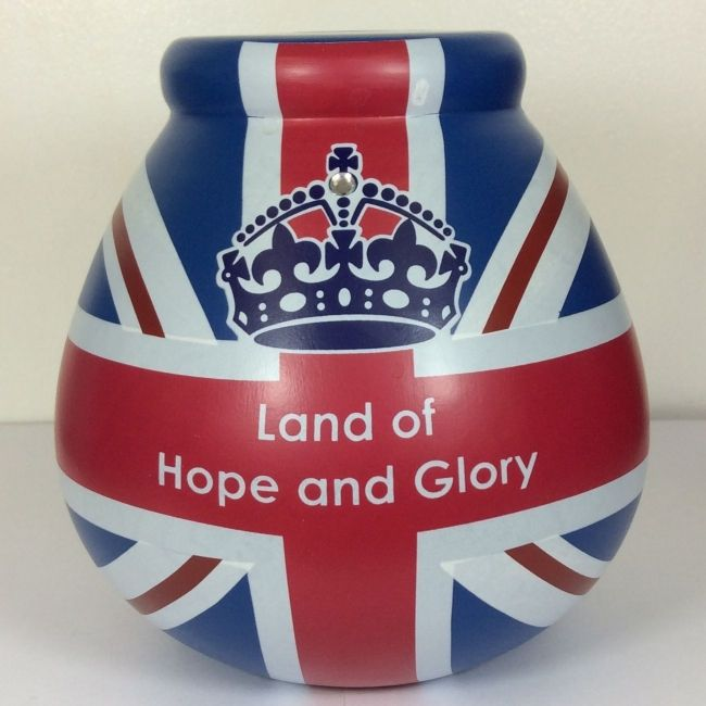 pot of dreams union jack hope and glory