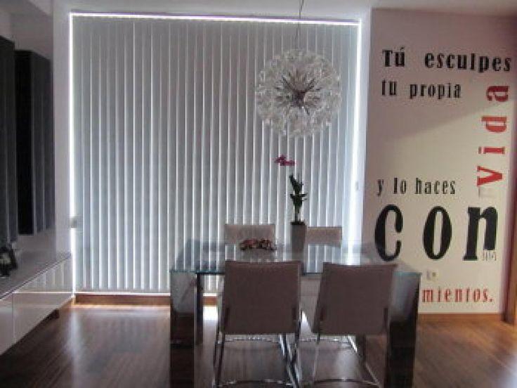 cortina vertical en lama traslcida estorwebcom ambientes pinterest salons and search