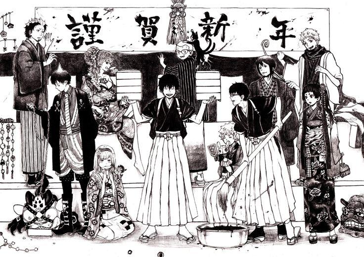 Blue Exorcist ~~ Manga-style