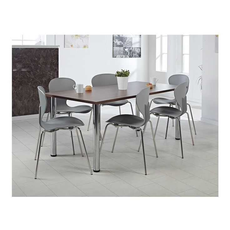 office desk dining table home room set chairs range beautiful mixture chrome walnut