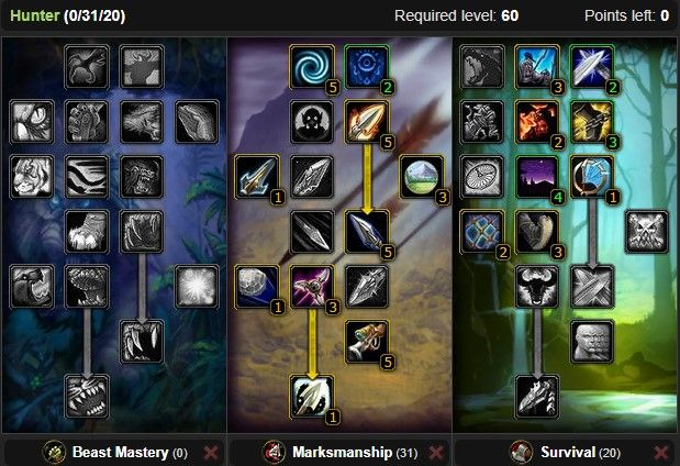 Classic Hunter Pvp Guide Wow Classic Icy Veins Pvp Classic