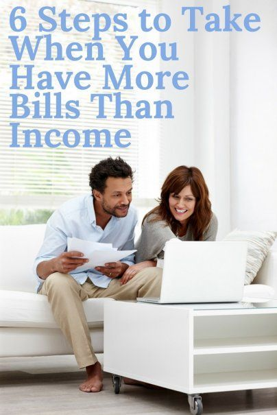 6 Steps to Take When You Have More Bills Than Income   How To Reduce Your Outgoings   How To Make Extra Income   Debt Consolidation Advice   Best Personal Finance Tips   How To Prioritise Your Budget