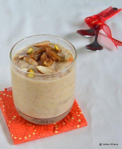 Anjeer Suji Phirni | Diwali Recipes ~ Indian Khana