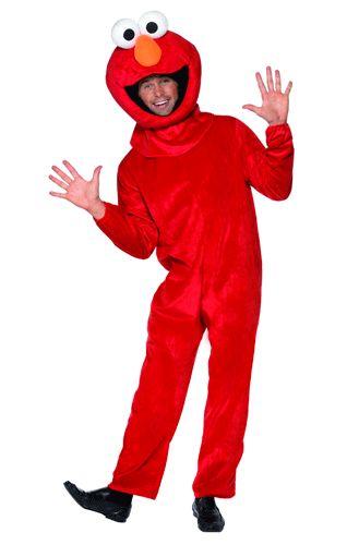 Een Sesamstraat Elmo kostuum voor volwassenen. Dit Elmo kostuum uit Sesamstraat ziet er echt uit als een vrolijke Muppet! Dit Elmo kostuum is een rood compleet pak met hoofd. Voor andere Sesamstraat personages kunt u ook in deze winkel terecht! One Size Fits All en valt ongeveer als een M/L. Materiaal: Fluweel. Carnavalskleding 2015 #carnaval