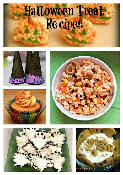 Fall Round-up: Halloween Treats and Sweets #halloween