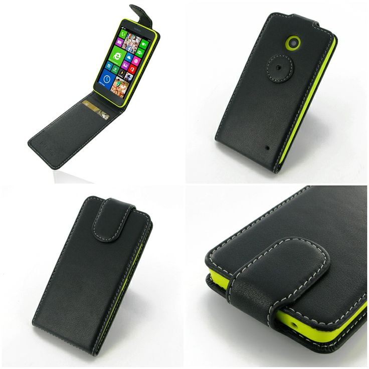 PDair Deluxe Leather Case for Nokia Lumia 630 Dual SIM
