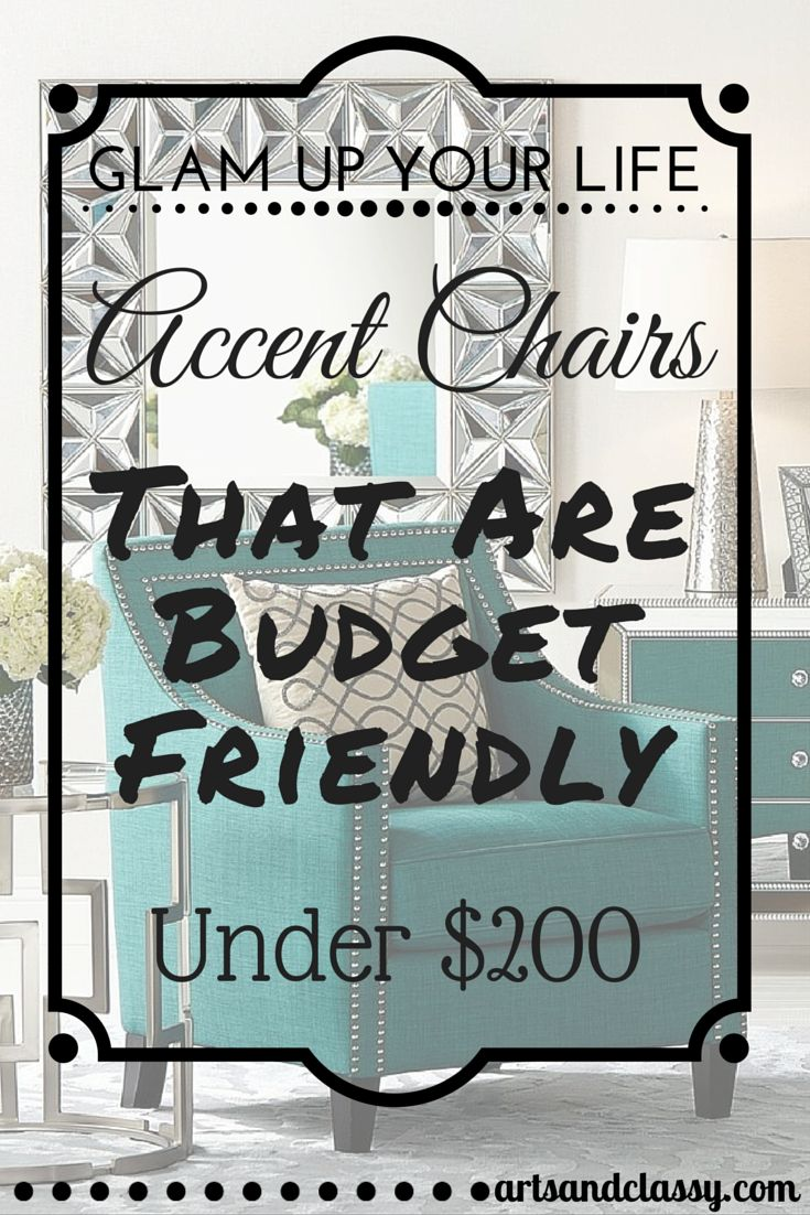 15 Elegant Accent Chairs On A Budget