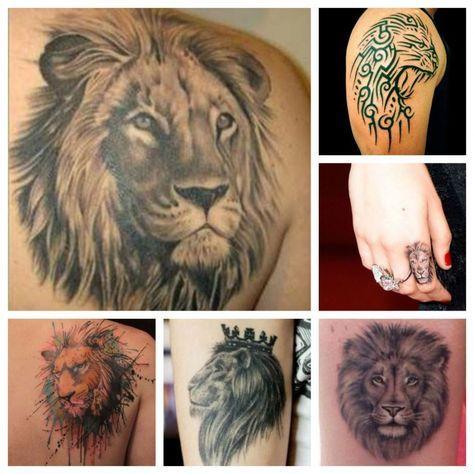 Il Leone Tatuaggio con Significato di Forza e Coraggio