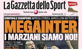 Image result for gazzetta dello sport