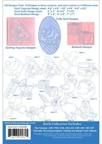 Anita Goodesign | Nursery Quilt - Anita Goodesign
