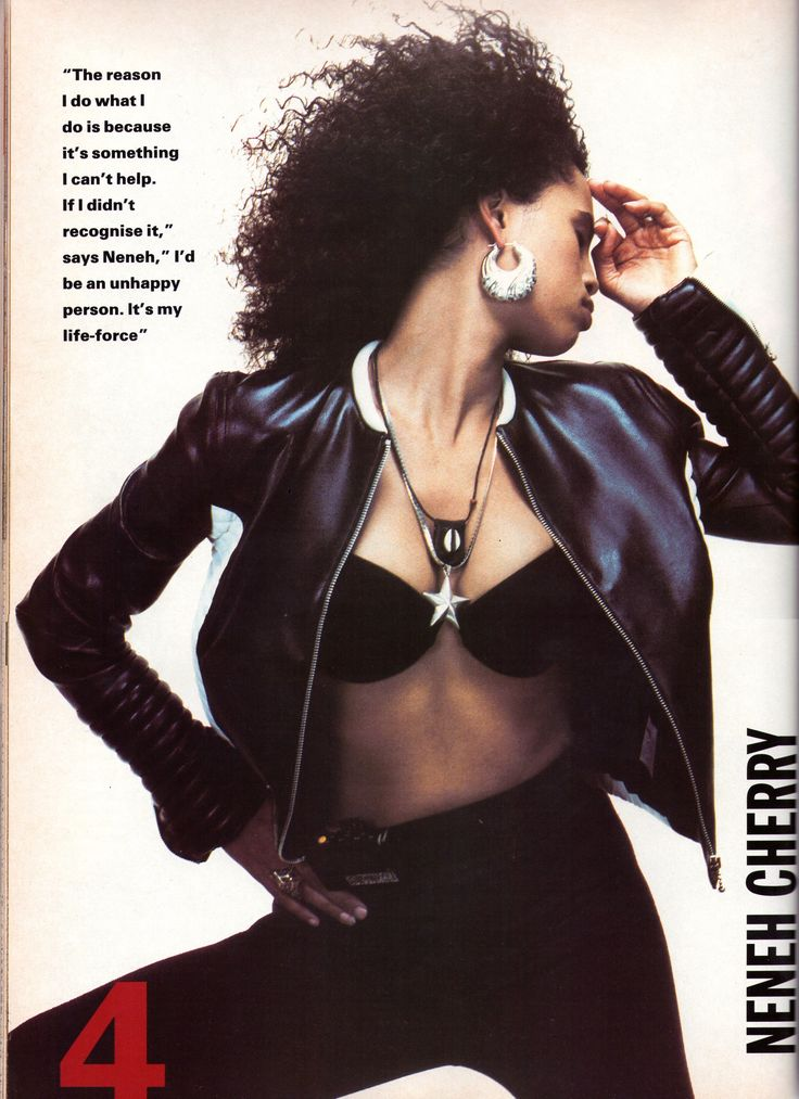 too much? Is there such a thing as too many pictures of Neneh Cherry ...