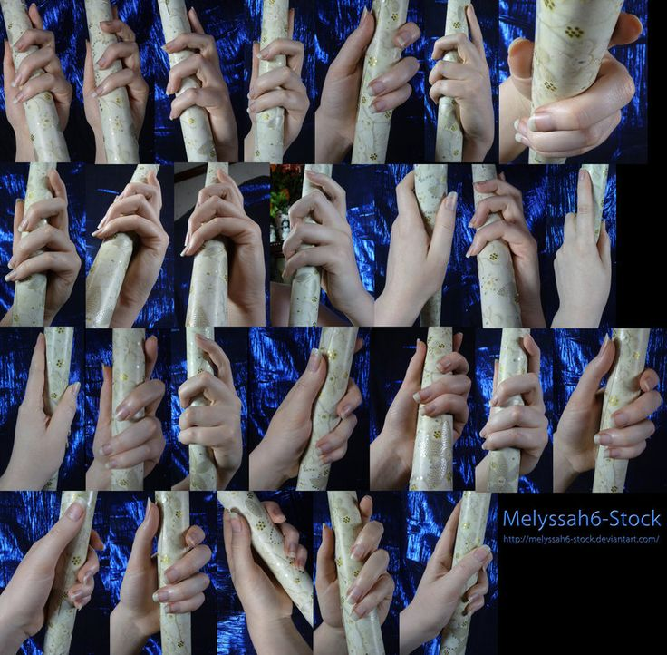 Hand Pose Stock - Wielding Staff - Loose Grasp by ~Melyssah6-Stock on deviantART