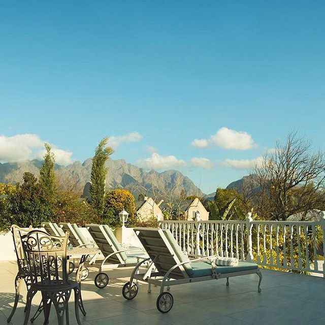 Spend your weekend relaxing in your luxury suite, exploring our neighboring wine farms or out on a fishing adventure. The peaceful town of Franschhoek is the ideal setting for a romantic weekend away.   _____________  #TheLastWord #CapeTown #Summer #ThePreferredLife #MantisCollection #travelcouple #travelgram #tripstagram #lovetravel #tourist #capetowntourism #visitcapetown #beautifuldestinations #travelphotography