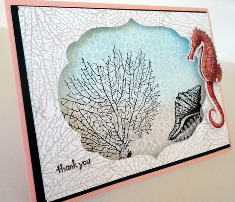 Thanks By the Tide by gr8cards - Cards and Paper Crafts at Splitcoaststampers