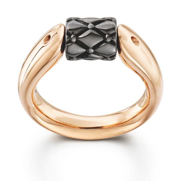 rose gold Tipit ring