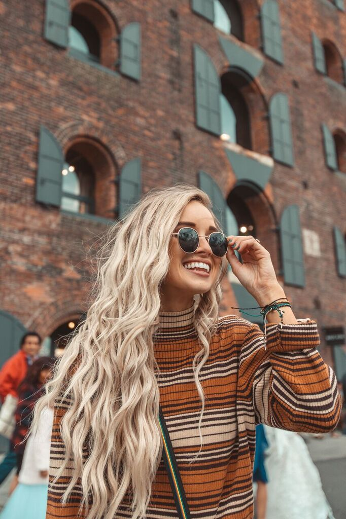 """💛 Use my code """"ANSONMADISONMA20"""" for 20% off! – Dreaming Outloud Hailey Style Instagram Travel Pura Vida Bracelets Fall Wallpapers New York City Mu…"""
