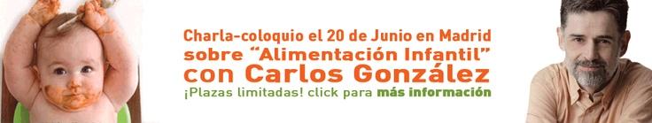 Próximos Encuentro Papás e hijos 2.0 con Carlos González el 20 de junio en Madrid.